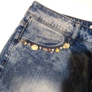 Forever 21 Shorts - 🍁Forever 21 denim jeweled short shorts